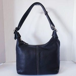 COACH 9566 Legacy Black Leather Converter Bag